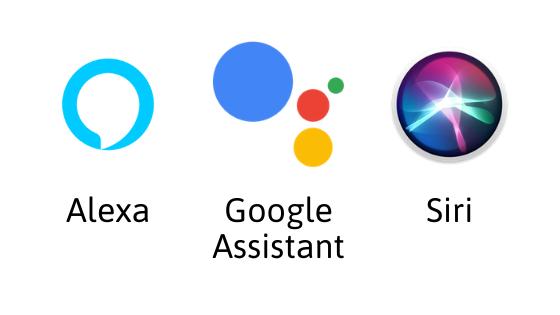 Works with Alexa Google assistant Siri