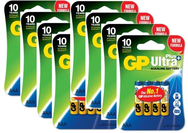 Tilbud GP batterier LR03
