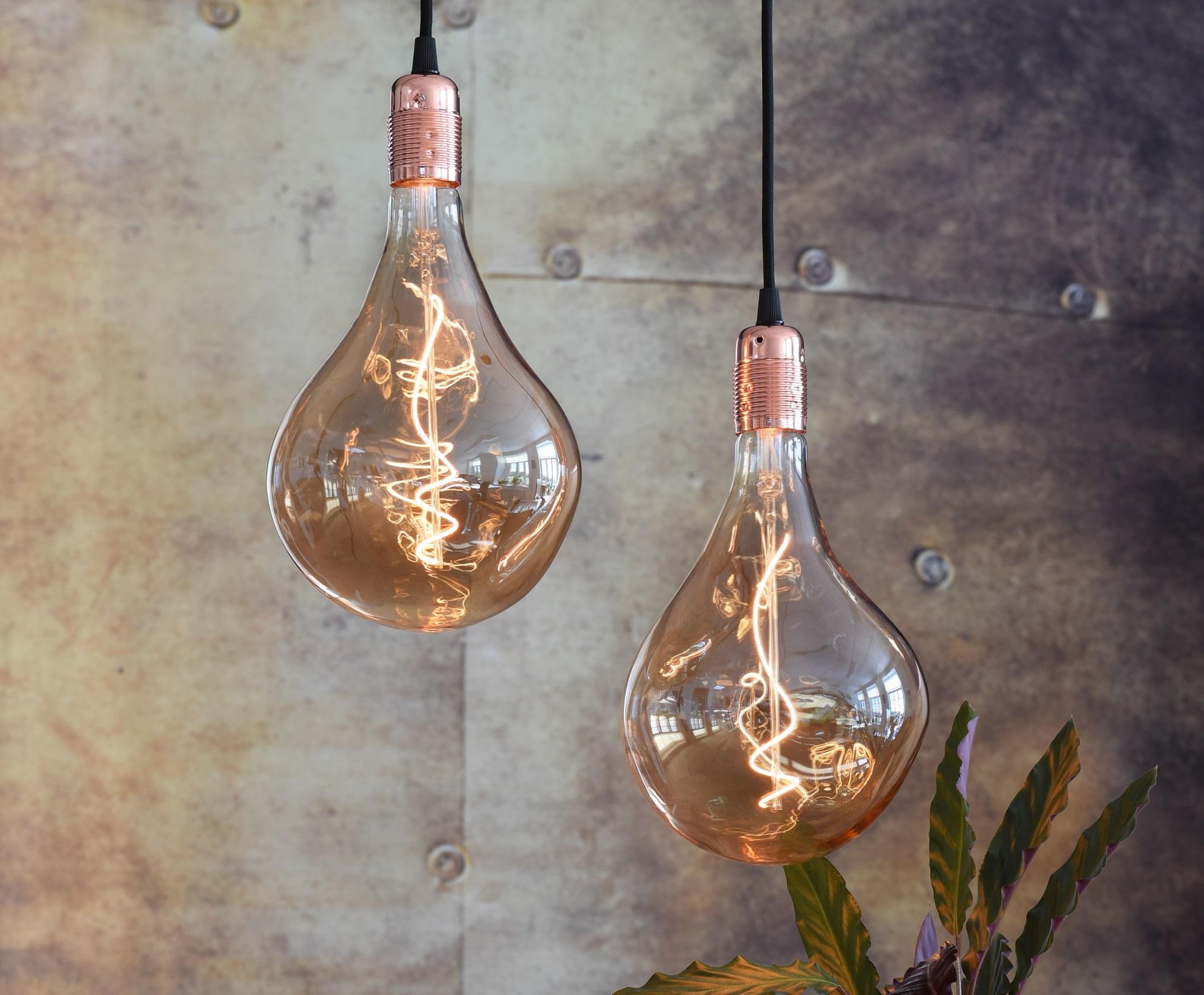 Dekorative pærer giver stemning i hjemmet Unica fra Danlamp